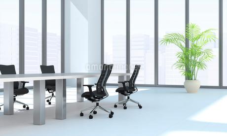 会議室のテーブルと椅子 CGのイラスト素材 [FYI01982097]