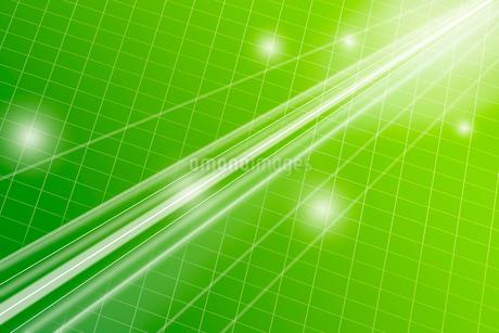 光る直線と格子模様 CGのイラスト素材 [FYI01982291]