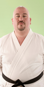 Man in karate outfitの写真素材 [FYI01982969]