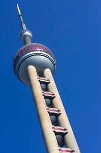Oriental Pearl Towerの写真素材 [FYI01985804]