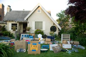 Garage saleの写真素材 [FYI01989569]