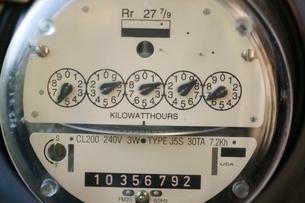 Electric meterの写真素材 [FYI01989711]