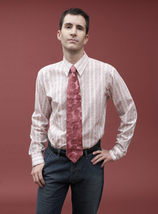 Business person wearing trendy clothingの写真素材 [FYI01989979]
