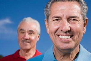 Men smilingの写真素材 [FYI01990709]