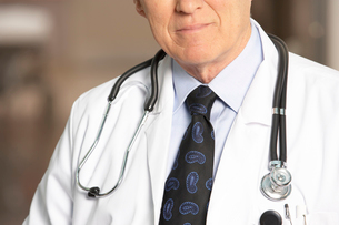 adult male doctor with stethoscopeの写真素材 [FYI01991871]