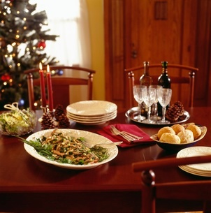 Holiday mealの写真素材 [FYI01992094]