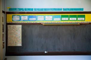 Classroom chalkboardの写真素材 [FYI01992161]