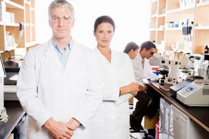 scientists in laboratoryの写真素材 [FYI01992717]