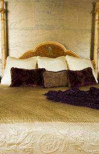 Unique Ornate Master Bedroom Bedの写真素材 [FYI01993271]