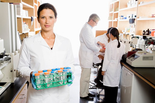 scientists in laboratoryの写真素材 [FYI01993362]