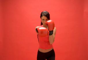 boxer punchingの写真素材 [FYI01993566]