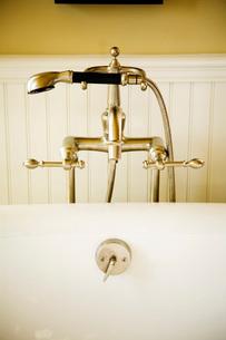 Fancy Bathtub Faucet and Shower Headの写真素材 [FYI01994381]