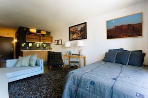 Contemporary Loft Style Apartmentの写真素材 [FYI01994495]
