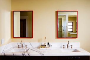 Contemporary Master Bathroomの写真素材 [FYI01995135]