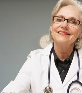 Doctor with stethoscopeの写真素材 [FYI01995468]