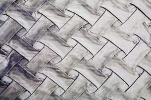 Texture of Purple Comforterの写真素材 [FYI01996434]