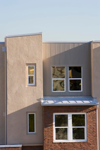 Exterior Detail of Contemporary Buildingの写真素材 [FYI01996528]