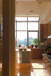 Contemporary kitchenの写真素材 [FYI01996551]