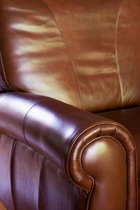 Comfortable Leather Armchairの写真素材 [FYI01996934]