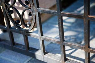 Wraught Iron Gateの写真素材 [FYI01996979]