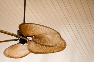 Detail of Beach Style Ceiling Fanの写真素材 [FYI01997229]