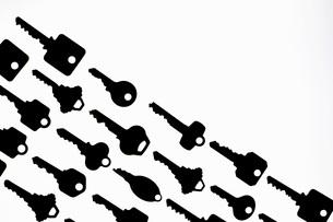Rows of keysの写真素材 [FYI01997408]
