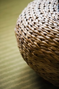 Wicker basketの写真素材 [FYI01997438]