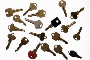 Assorted keysの写真素材 [FYI01997443]
