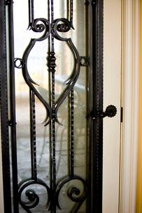 Wraught Iron Doorの写真素材 [FYI01997640]