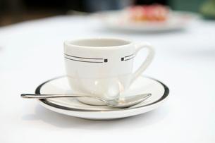 Close up of espresso mugの写真素材 [FYI01997901]