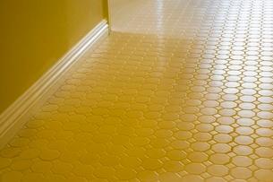 Detail of tiled floorの写真素材 [FYI01998015]