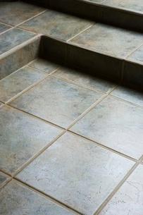 Detail of tiled floorの写真素材 [FYI01998319]