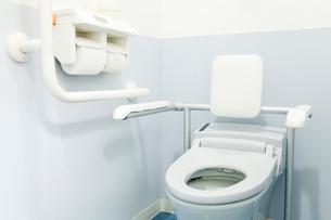 病室のトイレの写真素材 [FYI02004567]