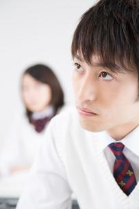 勉強する高校生の写真素材 [FYI02006104]