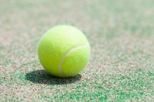 テニスボールの写真素材 [FYI02007957]