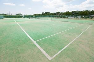 テニスコートの写真素材 [FYI02008179]