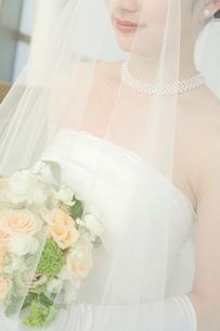 ベールを被った新婦の写真素材 [FYI02011020]