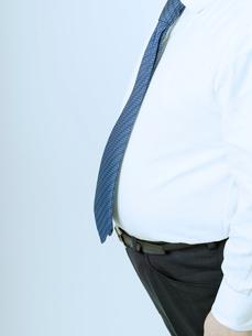 太った腹の男性の写真素材 [FYI02011438]