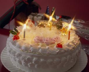 クリスマスケーキの写真素材 [FYI02012404]