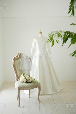 ウェディングドレスの写真素材 [FYI02013818]