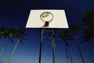 バスケットボールのゴールの写真素材 [FYI02015373]