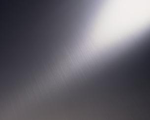 光るステンレスの表面の写真素材 [FYI02015678]