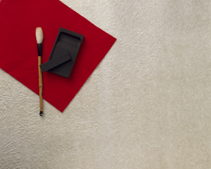 筆と硯の写真素材 [FYI02016064]