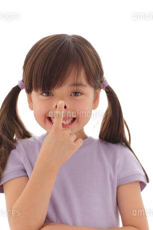 ファニーフェイスの女の子の写真素材 [FYI02017828]