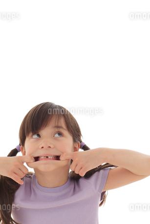 ファニーフェイスの女の子の写真素材 [FYI02019012]