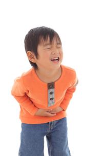 体調不良の男の子の写真素材 [FYI02021326]
