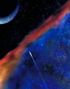 宇宙の銀河や惑星の写真素材 [FYI02022077]
