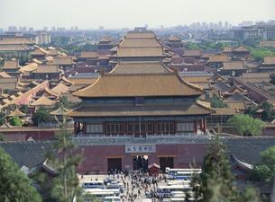 故宮博物館 北京 中国の写真素材 [FYI02022095]