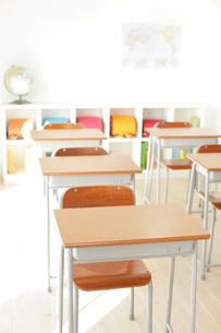 小学校の教室イメージの写真素材 [FYI02023369]