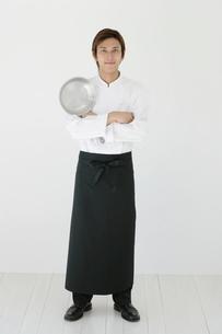 料理人のポートレートの写真素材 [FYI02024615]